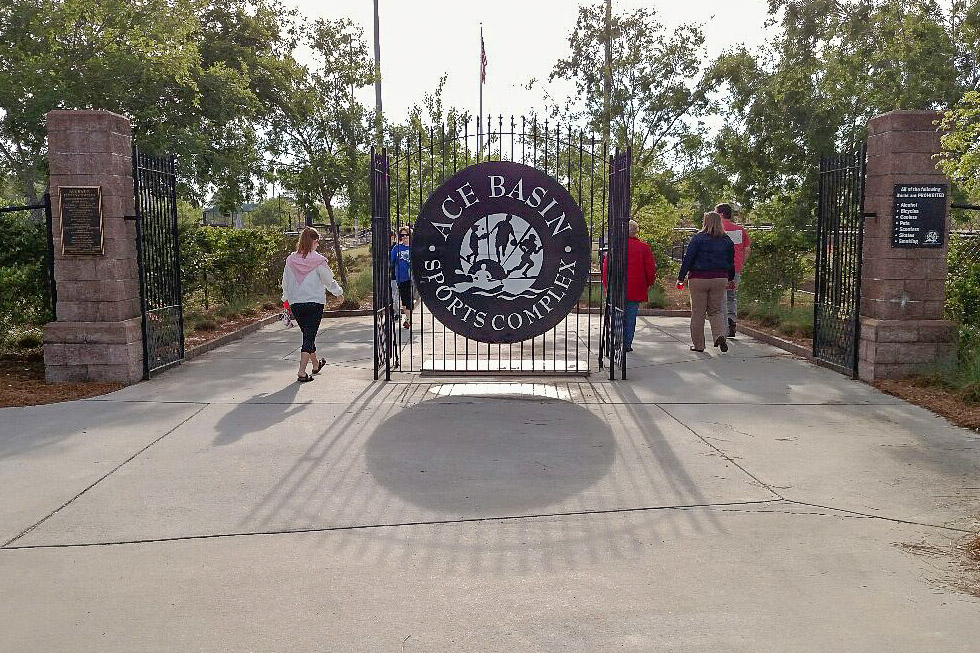 Colleton Sports Complex entrance