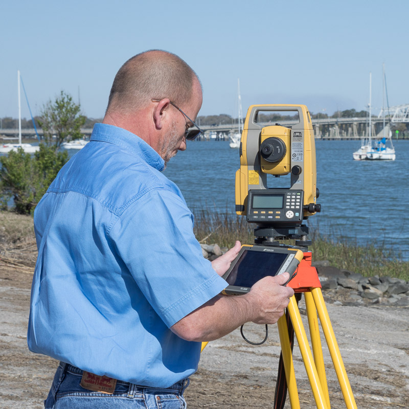 Surveying in Beaufort, SC